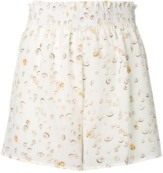 Tara Matthews seashell printed shorts