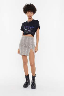 967b4ca464 Nasty Gal Words Scale Me Reptile Mini Skirt