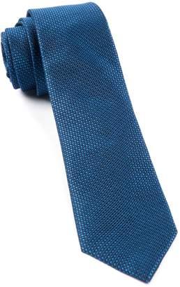 The Tie Bar TheTieBar 100% Woven Silk Sideline Solid Skinny Tie