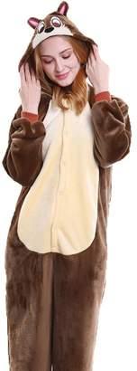 FloYoung® FloYoung Unisex Sleepwear Cosplay Costumes Onesie Pajamas Flannel S