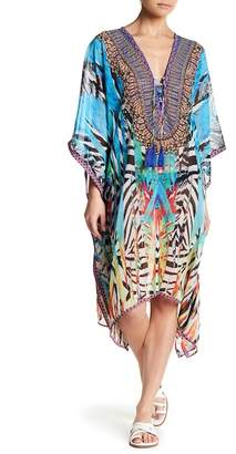 La Moda Balloon Caftan Tunic Cover Up