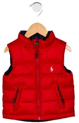 Ralph Lauren Boys' Reversible Down Vest