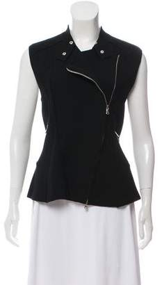 3.1 Phillip Lim Wool Peplum Top