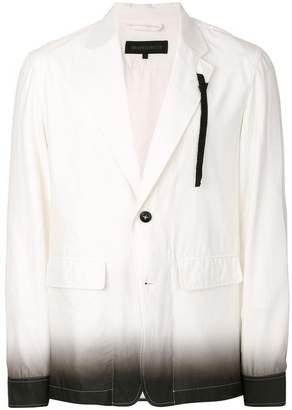 Ann Demeulemeester Grise gradient shirt jacket