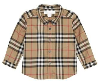 Burberry Fred Plaid Shirt