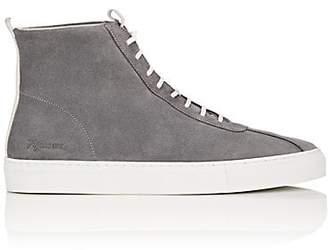 Grenson Men's Suede Sneakers - Gray