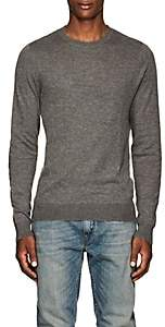 Zadig et Voltaire ZADIG ET VOLTAIRE MEN'S JEREMY DISTRESSED COTTON SWEATER-GRAY SIZE S