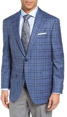 Men's Peter Millar Classic Fit Plaid Wool Sport Coat $695 thestylecure.com