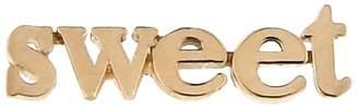 Jennifer Meyer Sweet Single Stud Earring - Rose Gold