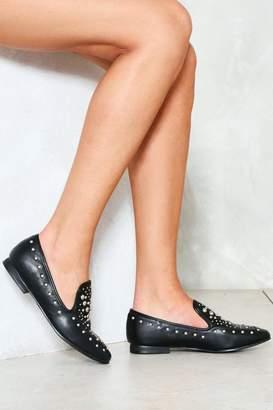 Nasty Gal Make a Stand Embellished Loafer