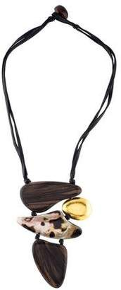 Viktoria Hayman Free-Form Pendant Necklace