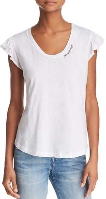 Sundry No Bad Days Flutter-Sleeve Tee
