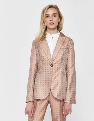 Farrow Jocelina Jacquard Suit Jacket