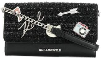Karl Lagerfeld K/Klassik Pins wallet
