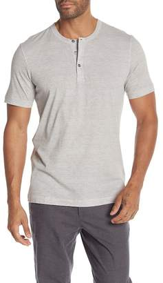 Theory Essential Regular Fit Short Short Sleeve Henley