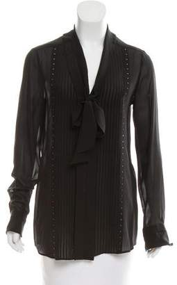 Belstaff Silk Embellished Blouse