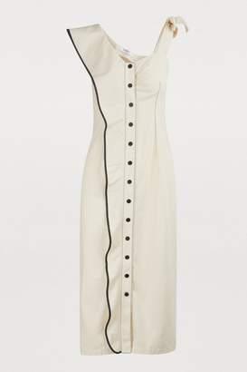 Marysia Swim Buttoned midi dress