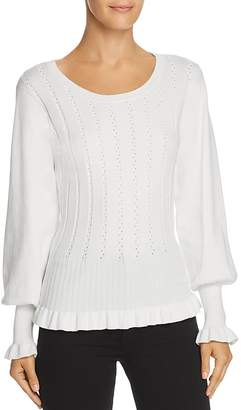 Parker Henri Perforated Sweater