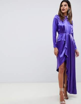 Asos Edition EDITION asymmetric soft cocktail dress