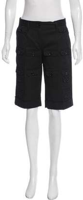 Dolce & Gabbana Mid-Rise Knee-Length Shorts w/ Tags