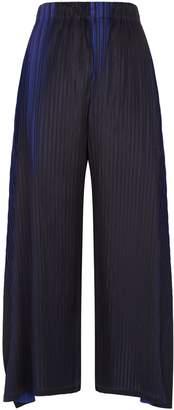 Pleats Please Two Tone Trousers