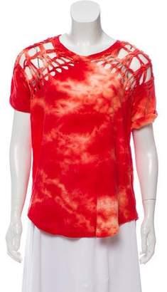 Isabel Marant Braided Tie-Dye T-Shirt