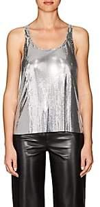 Paco Rabanne Women's Metal-Mesh Sleeveless Top - Silver