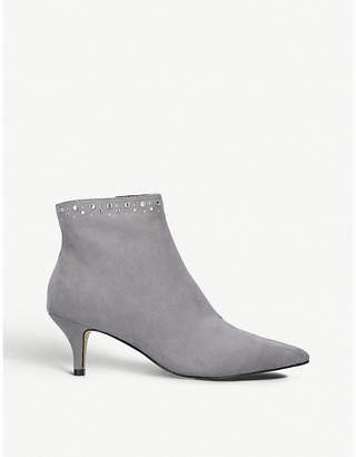 Nine West Carbon suedette boots