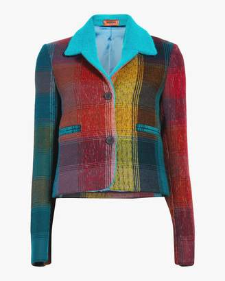 Missoni New York Check Crop Jacket
