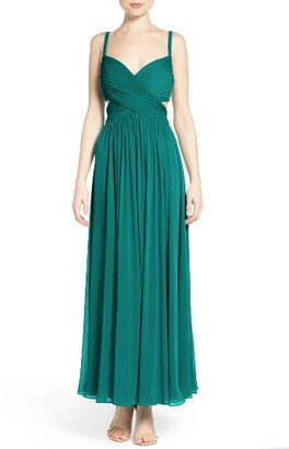 Women's Laundry By Shelli Segal Chiffon Gown $295 thestylecure.com