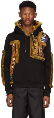 Versace Black Curtain Hoodie