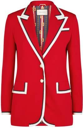 Gucci Contrast Trim Cady Jacket