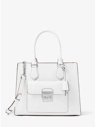 Bridgette Medium Saffiano Leather Tote $358 thestylecure.com