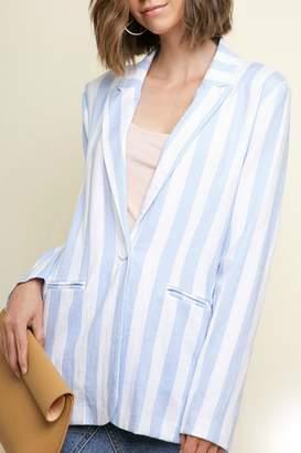 Umgee USA Blue Stripe Blazer