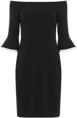 Dorothy Perkins Womens *Roman Originals Black Flute Sleeve Dress