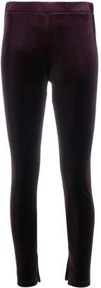 Zucca plain mid-rise leggings