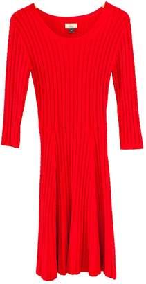 Issa Red Wool Dress for Women