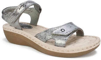 White Mountain Cliffs by Charlee Wedge Sandal - Women's