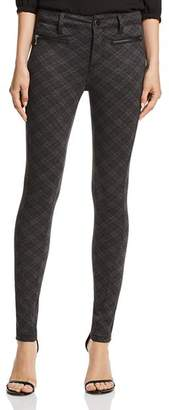Aqua Diamond-Plaid Skinny Pants - 100% Exclusive