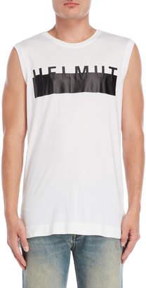 Helmut Lang HL Logo Muscle Tee