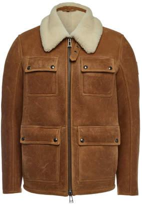 Belstaff Upland Sherpa Shearling Jacket