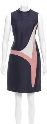 Akris Punto Linen-Blend Shift Dress w/ Tags