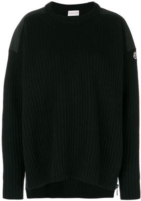 Moncler ribbed knitted sweater