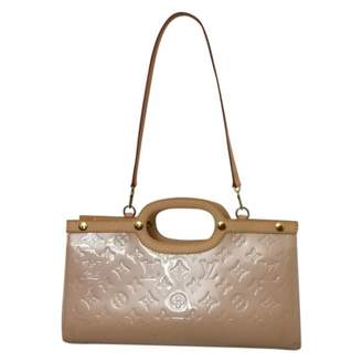 Louis Vuitton Roxbury Beige Patent leather Handbag