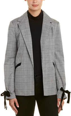 Bagatelle Plaid Blazer