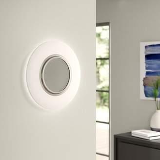 Ebern Designs Baylee Surface 1-Light LED Flush Mount Ebern Designs