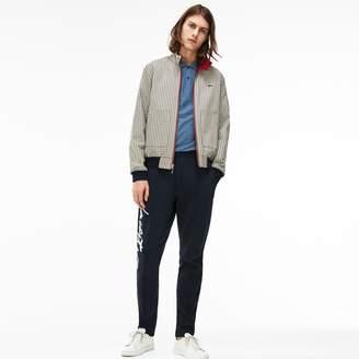 Lacoste Unisex LIVE Short Reversible Canvas Zip Jacket