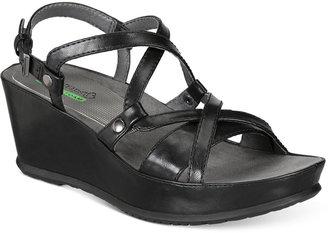 Bare Traps Lotti Wedge Sandals $69 thestylecure.com