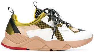 Grey Mer colour block sneakers