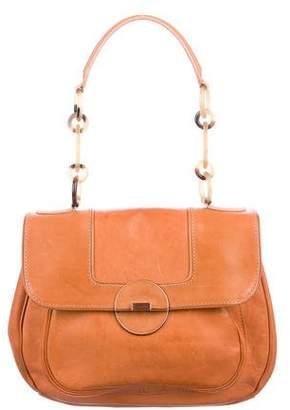 Calvin Klein Collection Natural Vachetta Shoulder Bag